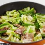 豚肉とキャベツの炒めカレーの作り方_2_1