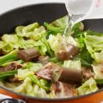 豚肉とキャベツの炒めカレーの作り方_3_1