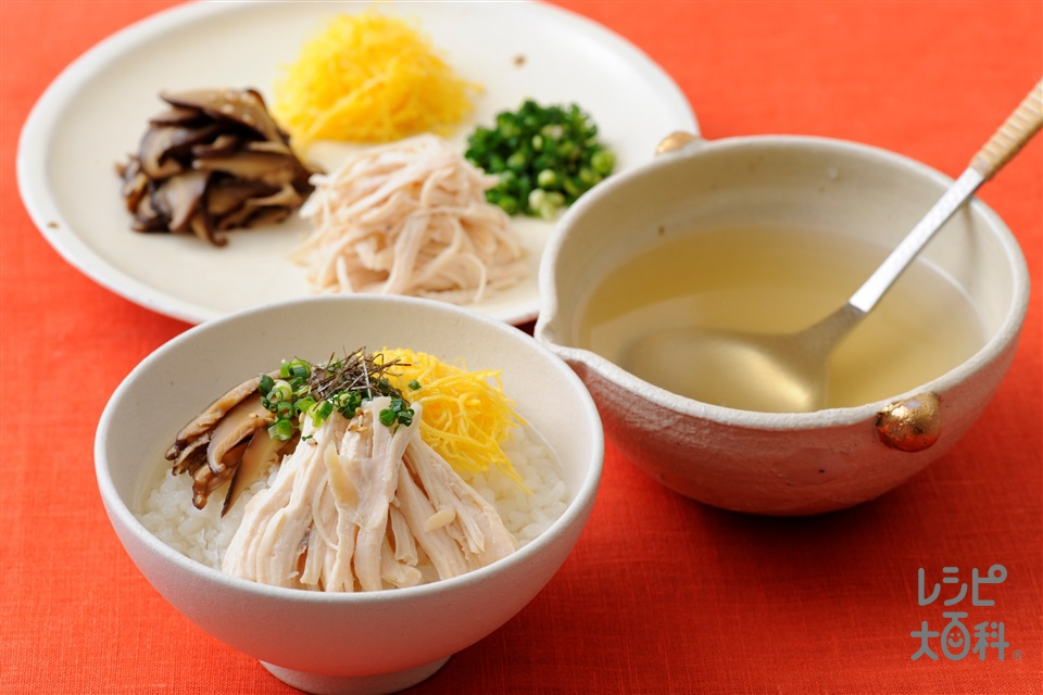 鶏飯(鶏むね肉(皮なし)+ご飯を使ったレシピ)