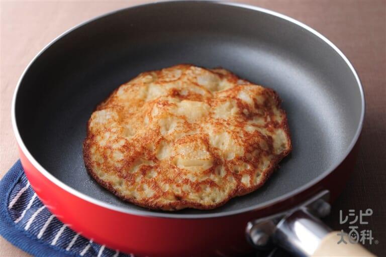 パンケーキみたいな山芋ステーキ
