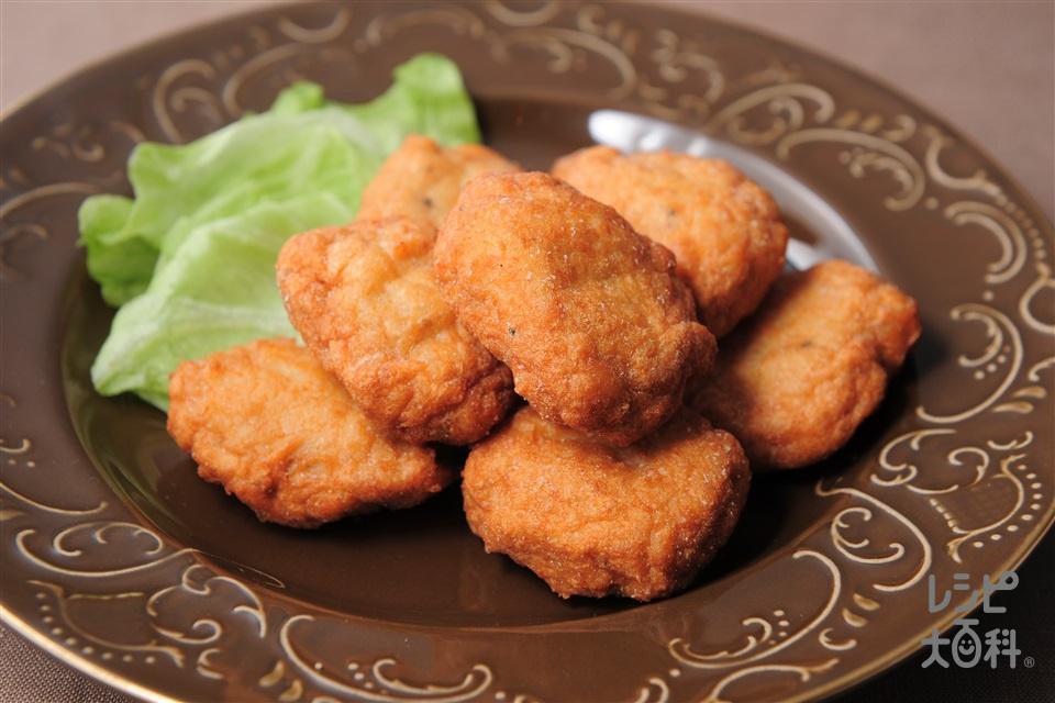 チキンナゲット(鶏むね肉+A溶き卵を使ったレシピ)
