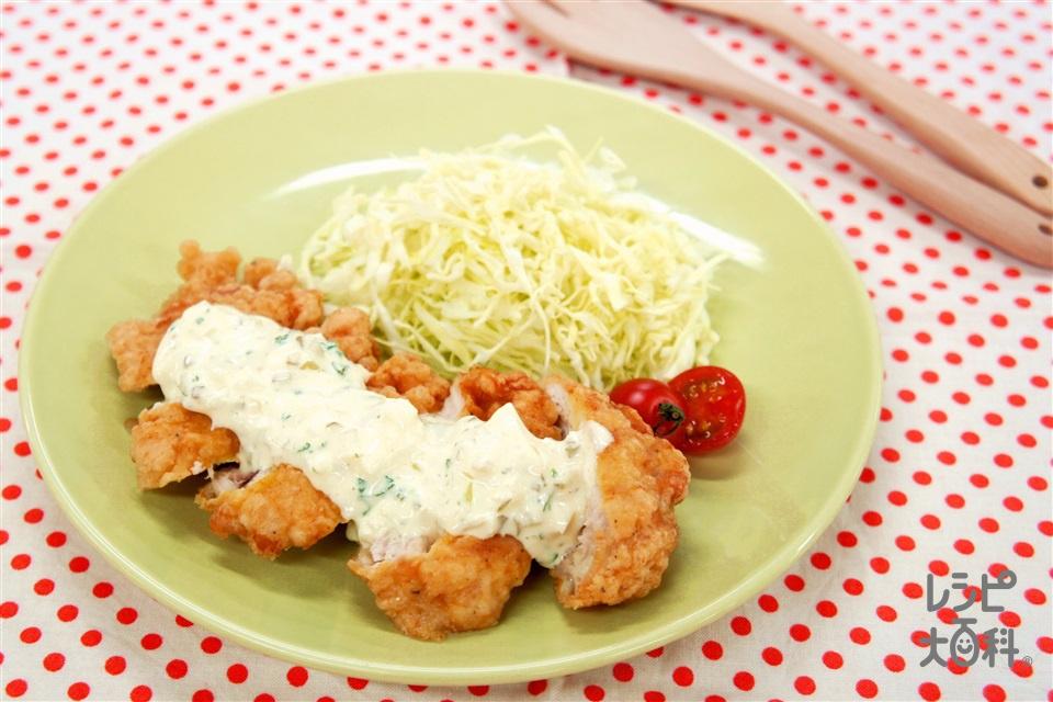 鶏なんばん(鶏むね肉+溶き卵を使ったレシピ)