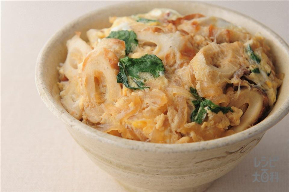 ちくわ丼(溶き卵+ご飯を使ったレシピ)