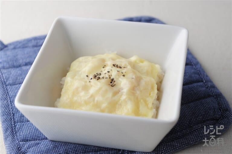 ご飯チーズ焼き