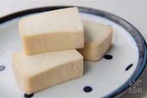 豆腐のみそだし漬け(木綿豆腐+を使ったレシピ)