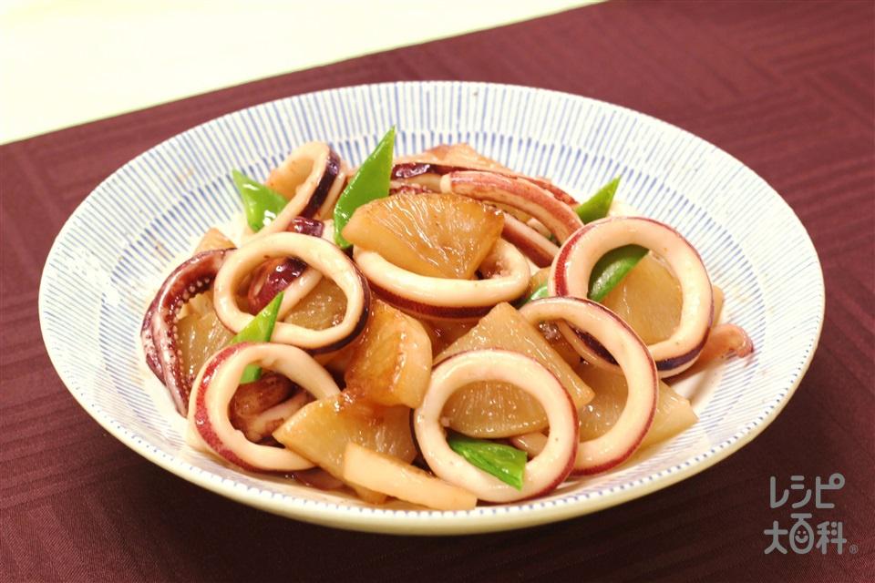 いか大根の煮物(いか+大根を使ったレシピ)