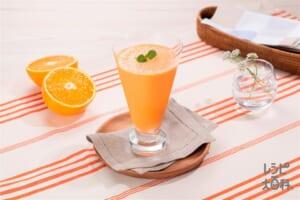 にんじん&オレンジスムージー