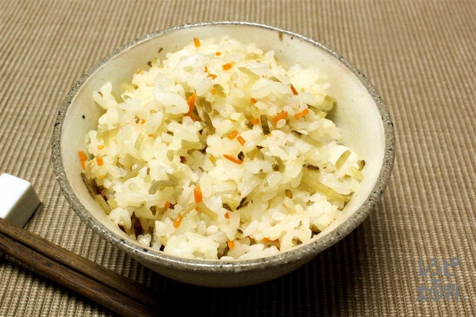 きんぴらをナイスリメイク!きんぴら混ぜご飯(温かいご飯を使ったレシピ)