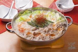 豚肉と春雨のピリ辛鍋