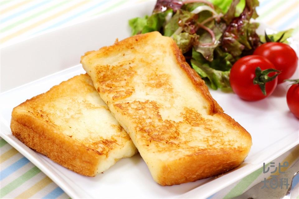 マヨ☆フレンチトースト(食パン6枚切り+A牛乳を使ったレシピ)