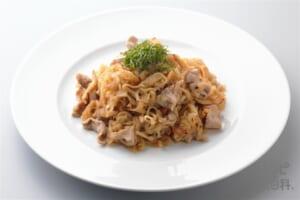 豚肉と切り干し大根と桜えびの甘辛炒め(豚こま切れ肉+切り干し大根を使ったレシピ)