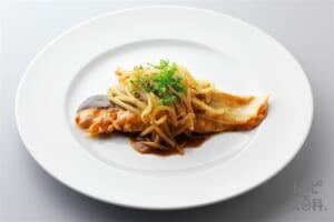 鮭ともやしの甘辛焼き(さけ+緑豆もやしを使ったレシピ)