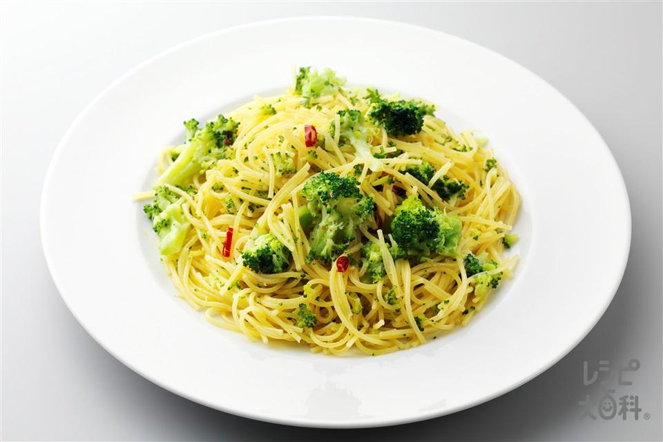 シチリア風ブロッコリーのパスタ(スパゲッティ+ブロッコリーを使ったレシピ)
