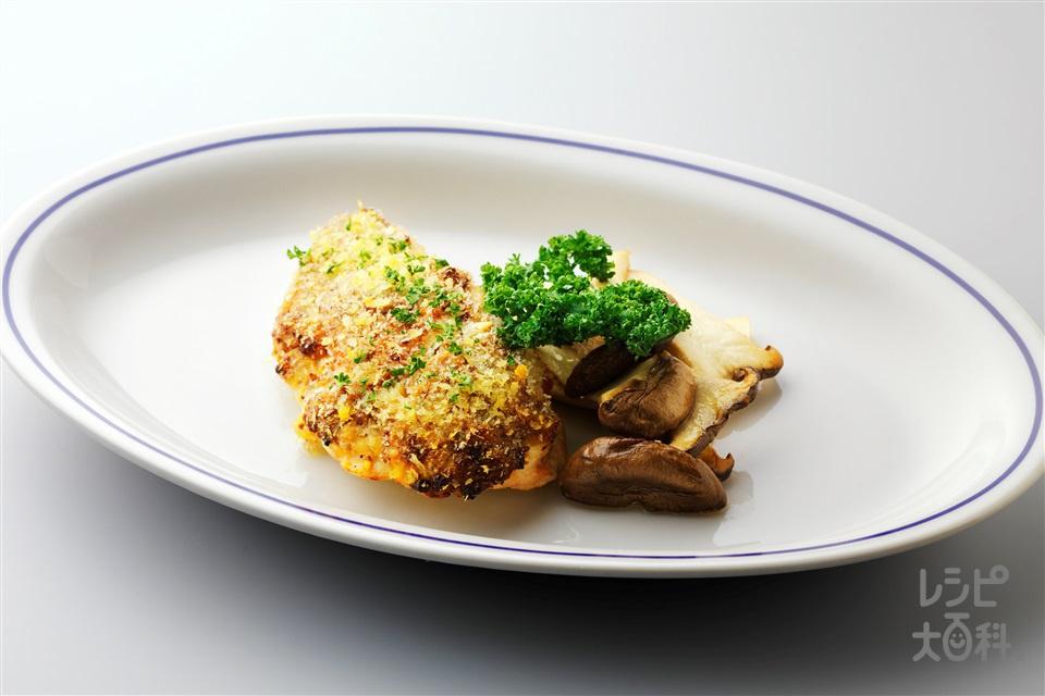 鶏肉の悪魔風(鶏むね肉(皮つき)+エリンギを使ったレシピ)