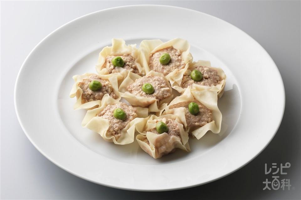 豚と豆腐のシューマイ