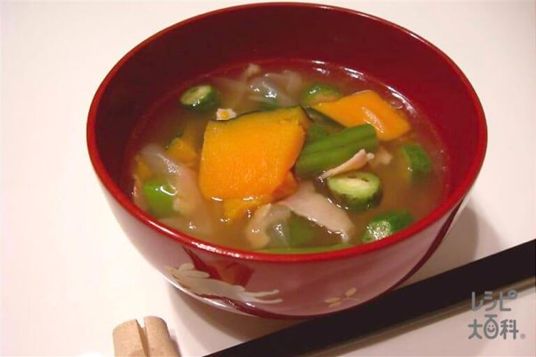 夏野菜のおかず椀 ~和風~