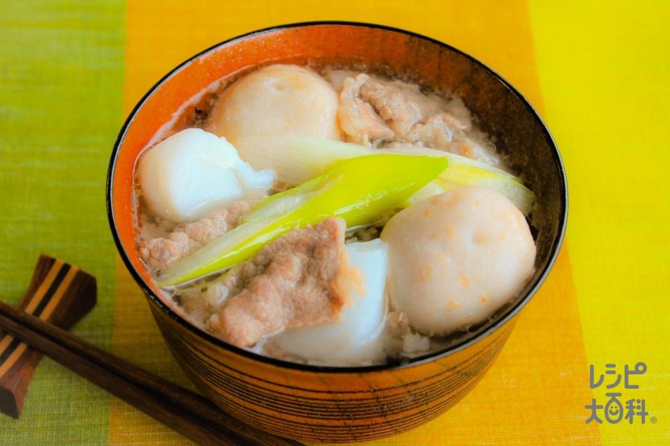 うま塩芋煮(牛バラ)