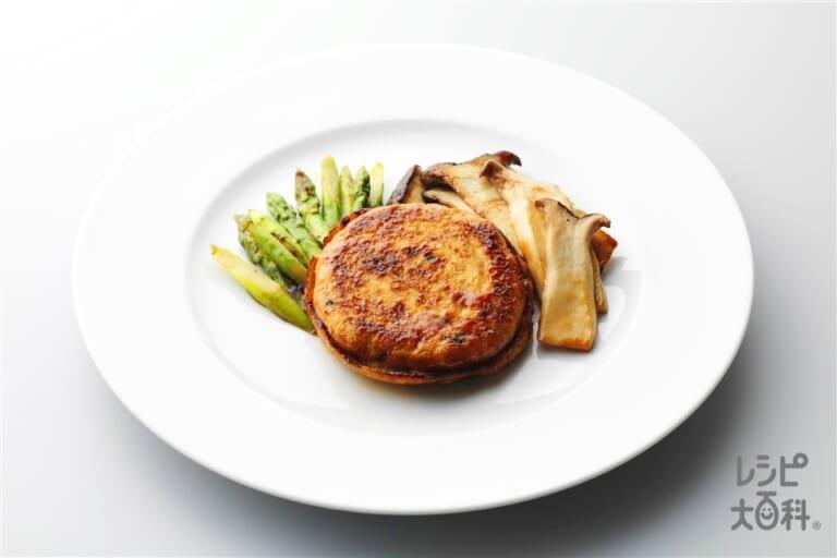 がんものガーリックステーキ