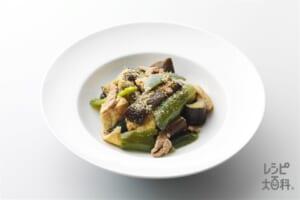 豚肉と野菜の炒め煮