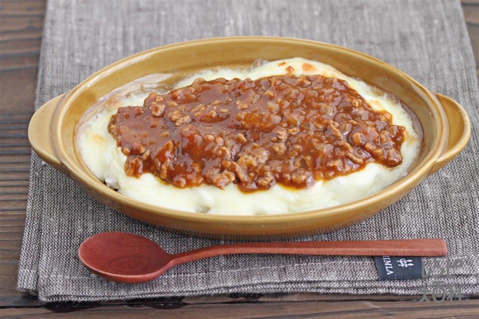 ミラノ風ミートドリア(ご飯+合いびき肉を使ったレシピ)