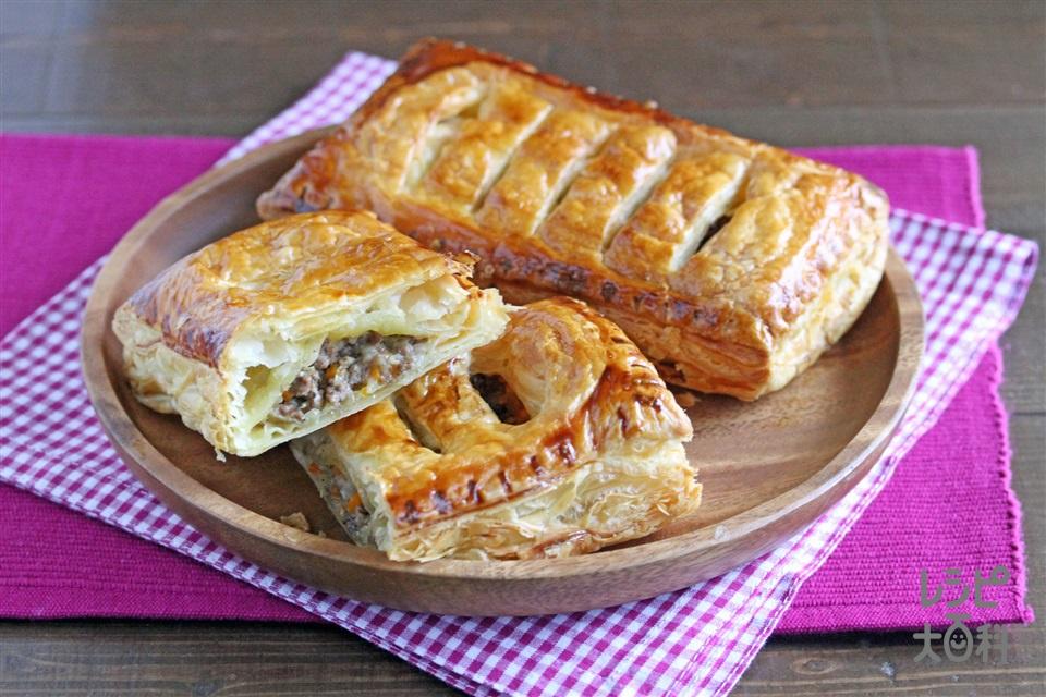 かんたんミートパイ(合いびき肉+を使ったレシピ)