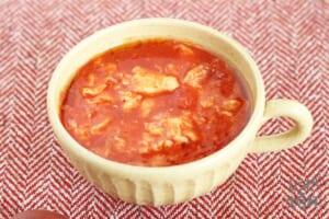 トマトかき玉スープ