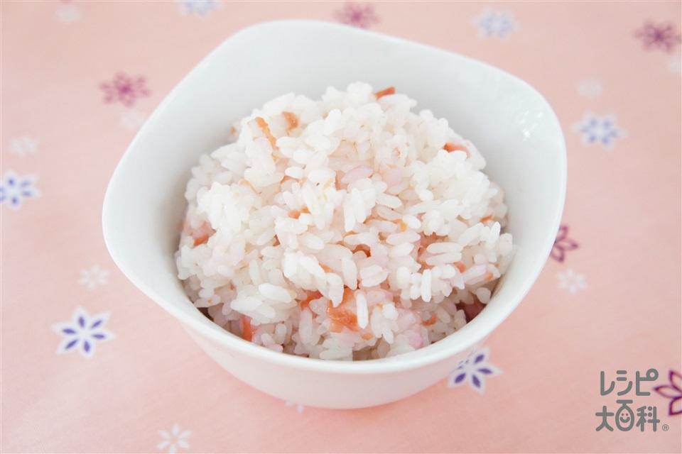 梅ごはん(ご飯+梅干しを使ったレシピ)