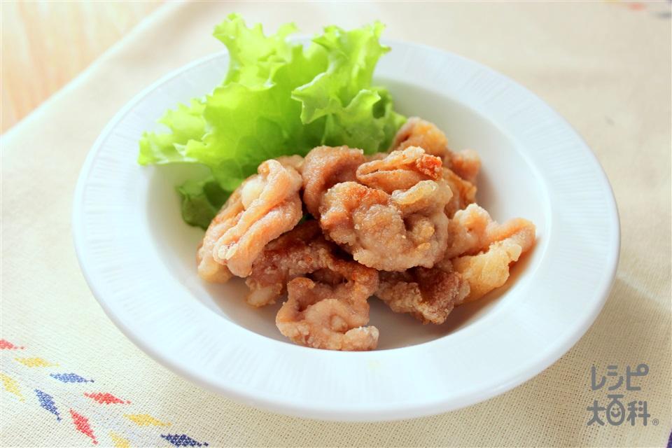 豚のカリカリ揚げ(豚薄切り肉+片栗粉を使ったレシピ)