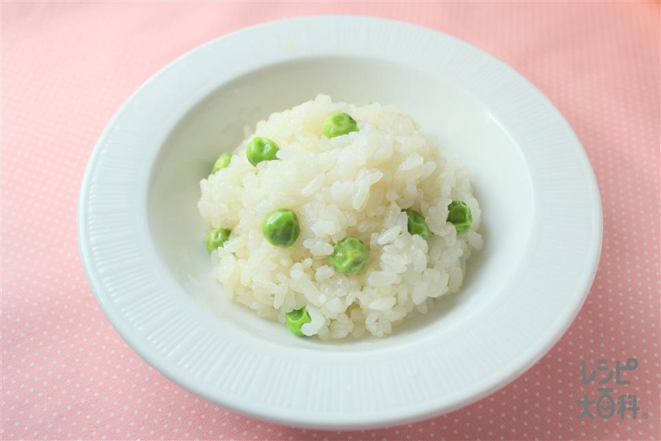 豆ごはん(ご飯+味の素冷凍食品KK「グリンピース」を使ったレシピ)