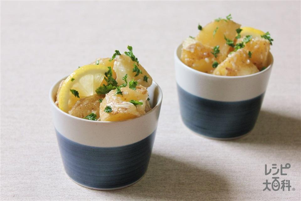 おつまみポテトサラダ(じゃがいも+にんにくを使ったレシピ)