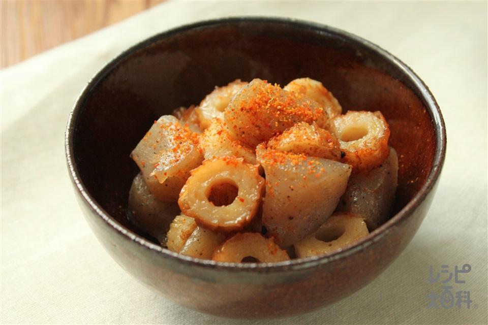 ちくわとこんにゃくの甘辛煮(ちくわ+こんにゃくを使ったレシピ)