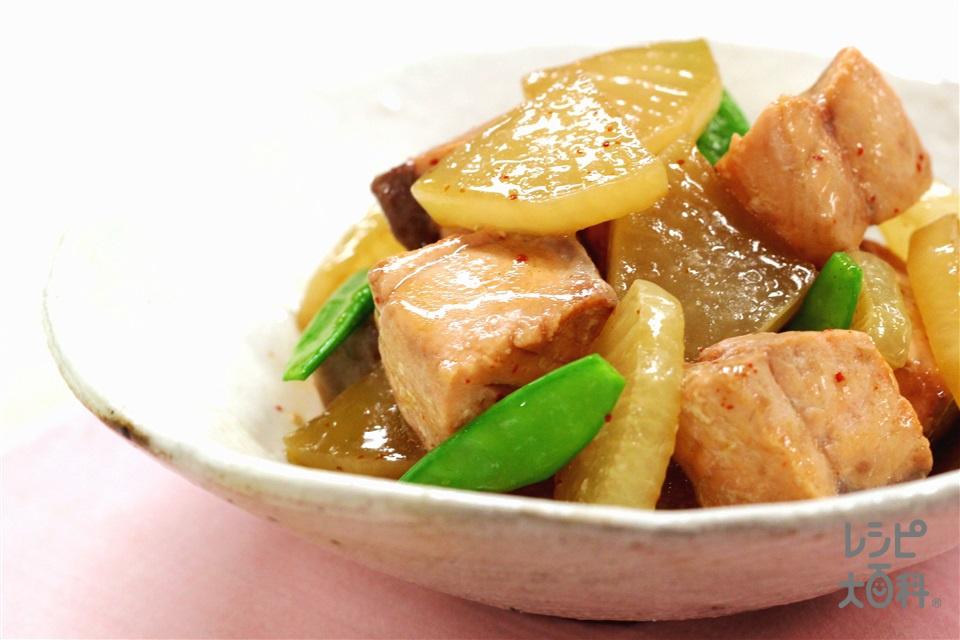さけと大根の煮物(生ざけ(切り身)+大根を使ったレシピ)