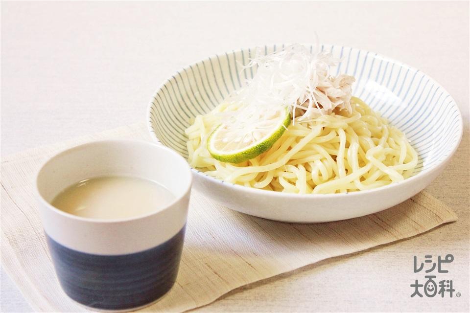 濃厚白湯塩つけ麺