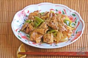 鶏のスタミナ回鍋肉仕立て
