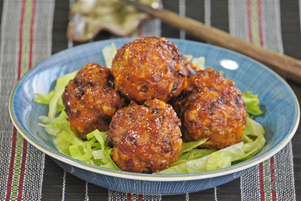 肉団子のピリッとマヨネーズ和え(豚ひき肉+玉ねぎを使ったレシピ)