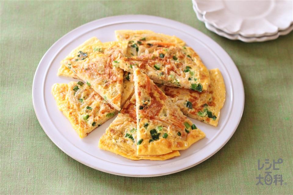 切干大根の卵焼き(卵+「丸鶏がらスープ」を使ったレシピ)