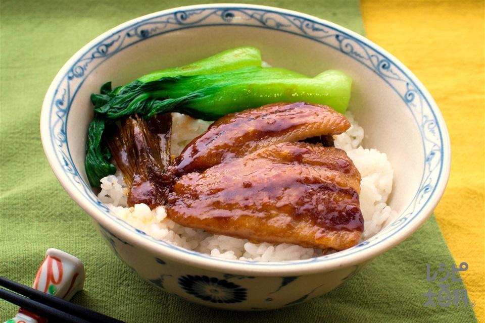 ニシンのオイバター丼(にしん+ご飯を使ったレシピ)