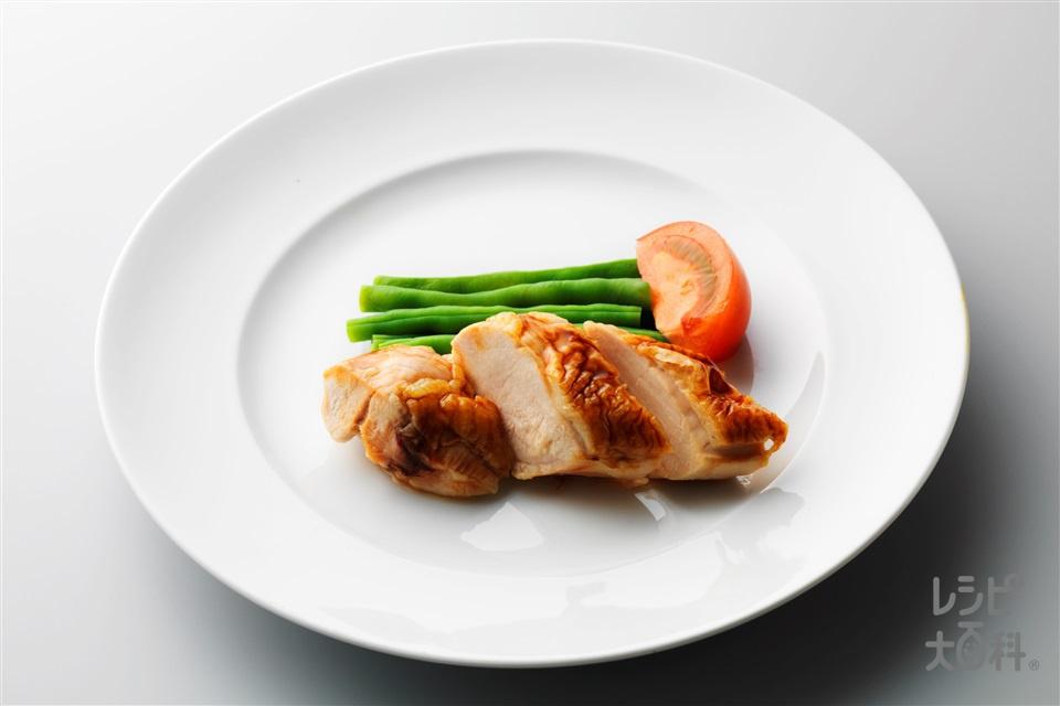 鶏のオイスターソース焼き(鶏もも肉(皮つき)+さやいんげんを使ったレシピ)