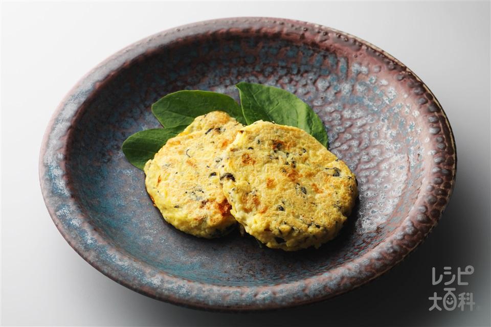 ふんわり豆腐バーグ(木綿豆腐+おろし長いもを使ったレシピ)