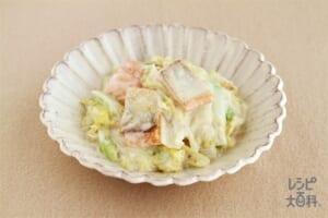 鮭と白菜のクリーム煮