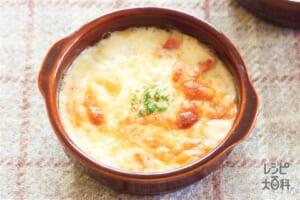 白菜とベーコンのクリームグラタン