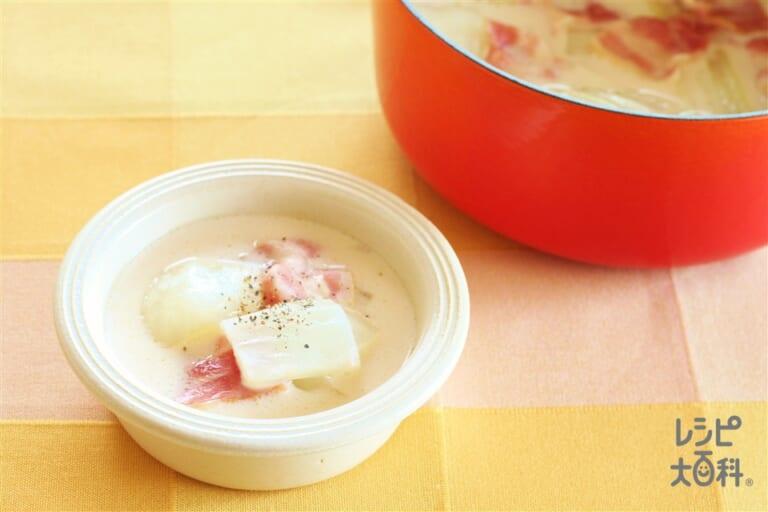 白菜の洋風ミルフィーユ鍋