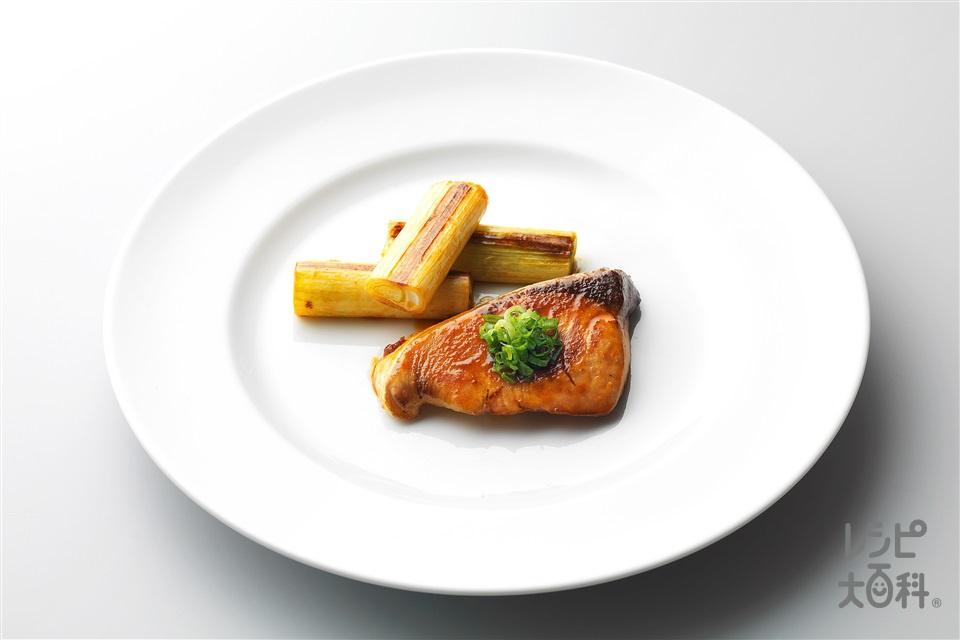 ぶりの香味照り焼き(ぶり+長ねぎを使ったレシピ)