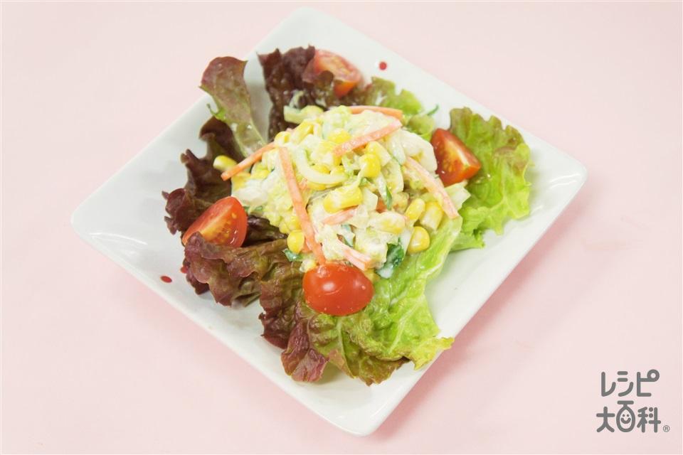 白菜のコールスローサラダ(白菜+にんじんを使ったレシピ)