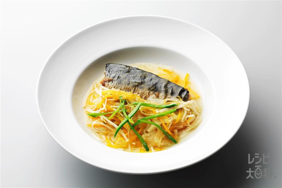さばの甘酢あんかけ(さば(切り身)+玉ねぎを使ったレシピ)