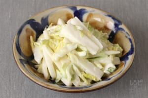 白菜のわさびマヨサラダ