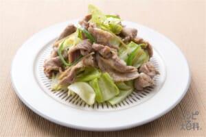 豚こまと野菜の炒め物