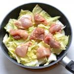 鶏肉の香りバター蒸し白菜添えの作り方_2_0