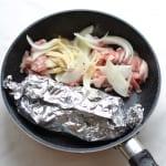 豚肉とミニトマトの中華炒めとしめじのマヨネーズ和えの作り方_3_1