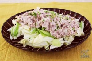 サバ缶マヨとキャベツの絶品サラダ